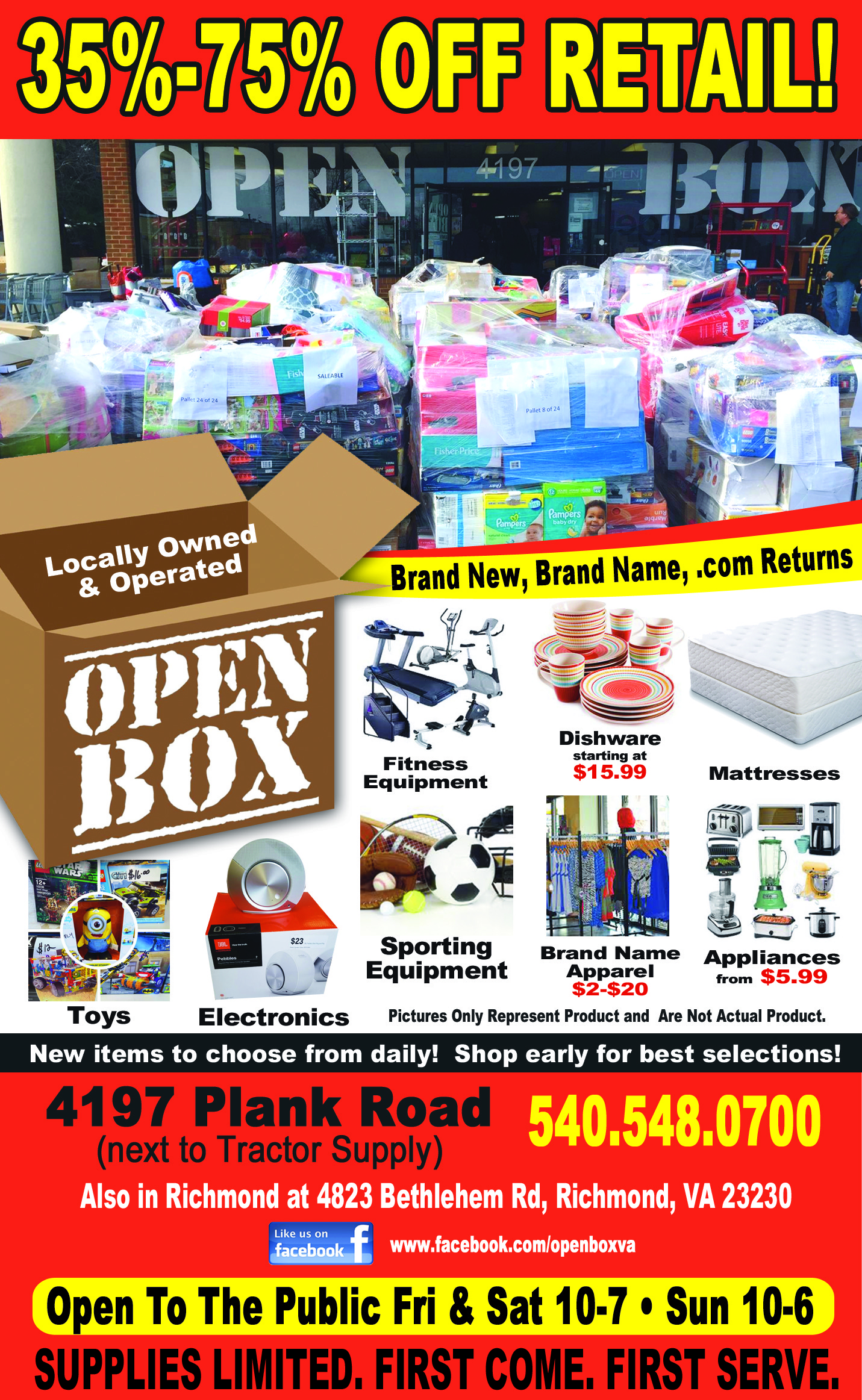 Open Box Liquidators