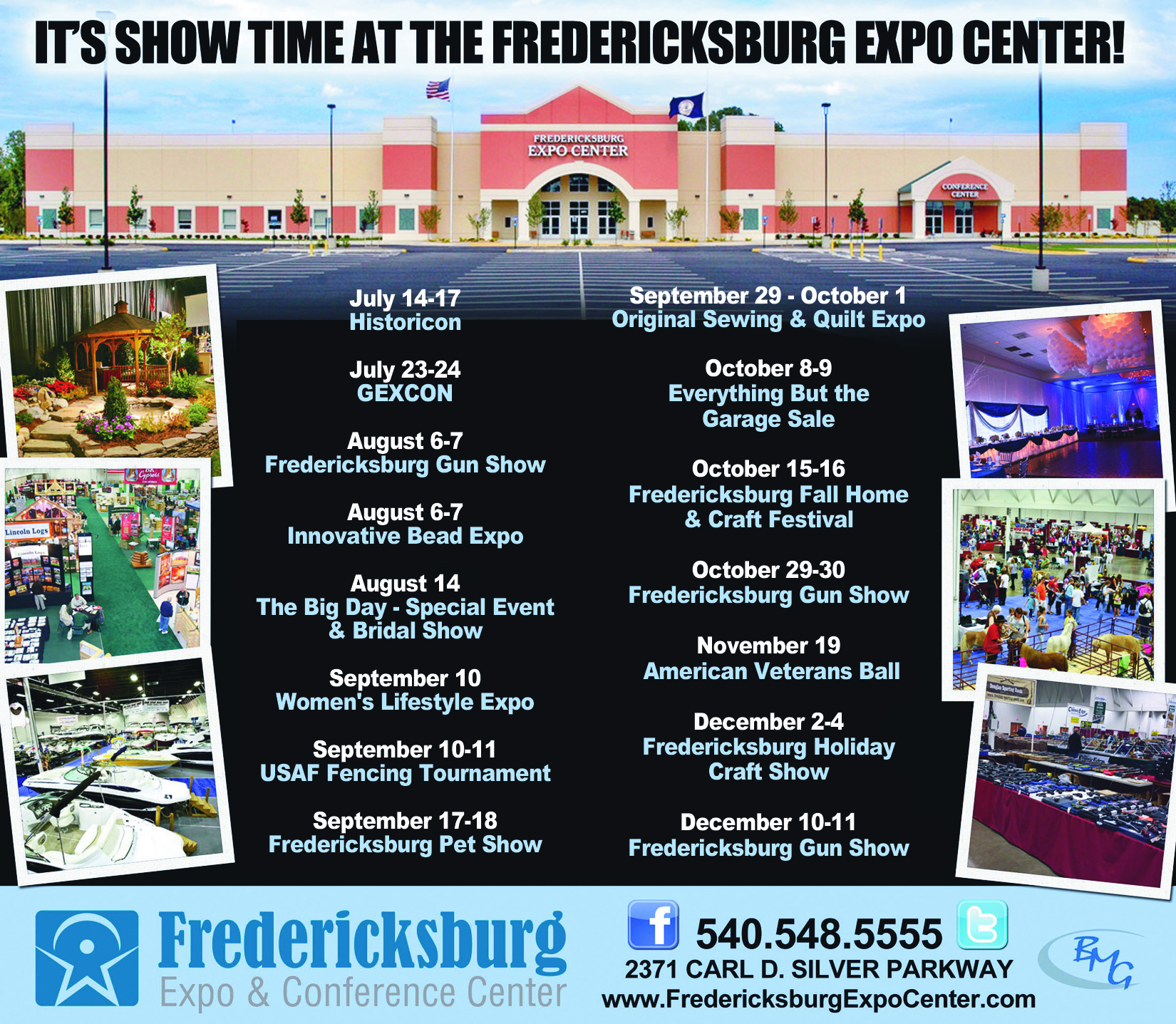 Fredericksburg Expo Center