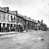 A View of Fredericksburg's William Street 155 Years Ago