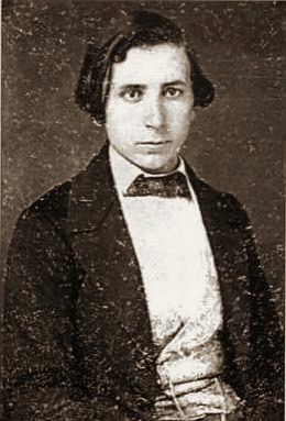 John Henry Myer before the Civil War, as a young entrepreneur.
